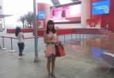 Наша сотрудник в Гуанчжоу. Лариса - помогает с юридическими вопросами