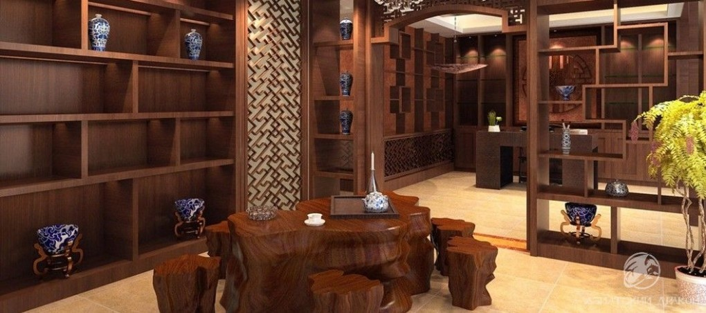 Chinese-style-tea-shop-interior-design-rendering (2)