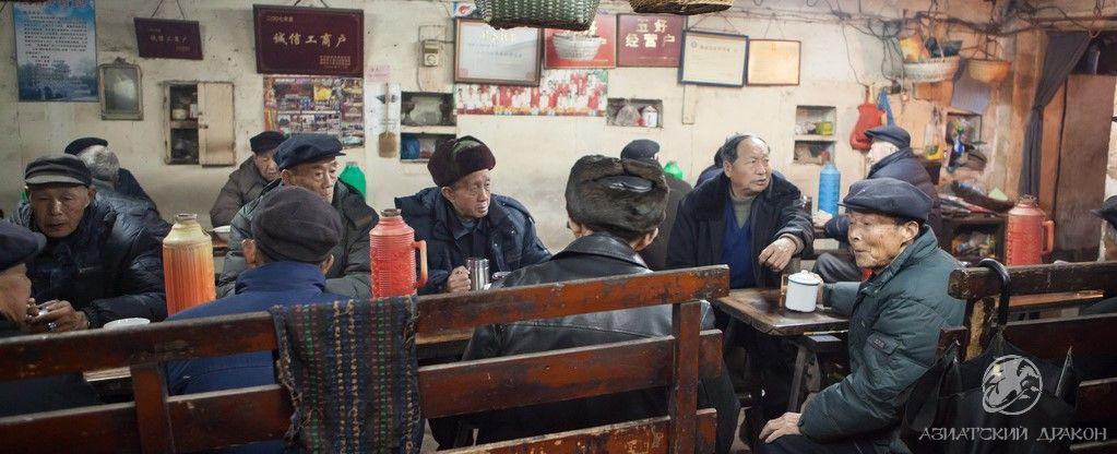 Чайные лавки в древнем Китае